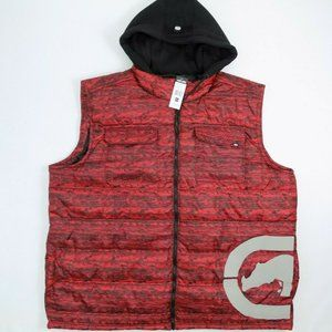 Ecko Unltd 4XL Mens Vest Mens Puffer Jacket